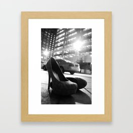 Abandoned Date Framed Art Print