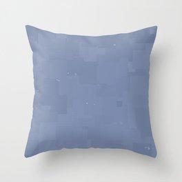 Stonewash Square Pixel Color Accent Throw Pillow