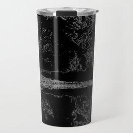 Knik River Mts. Pop Art - 4 Travel Mug