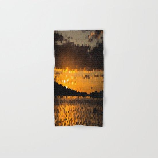 Autumn Sunset Hand & Bath Towel