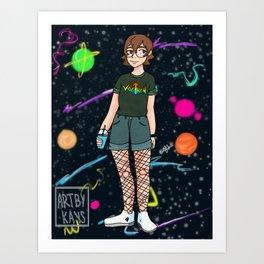 80s Pidge Art Print