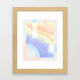 Shore Synth #1 Framed Art Print