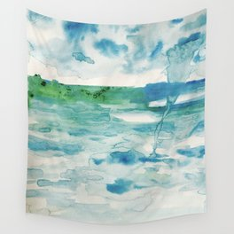 Miami Beach Watercolor #2 Wall Tapestry