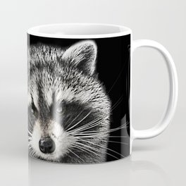 A Gentle Raccoon Coffee Mug
