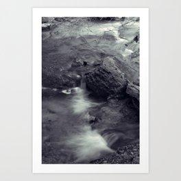 Djur-Djur Waterfall III Art Print