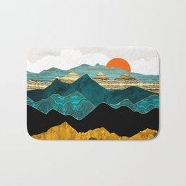 Turquoise Vista Bath Mat