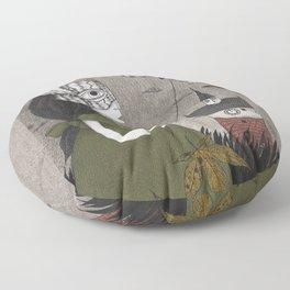 Oda (An All Hallows' Eve Tale) Floor Pillow
