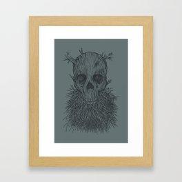 The Lumbermancer (Grey) Framed Art Print