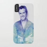 luke hemmings iPhone & iPod Cases featuring Luke by ThisTinyBean.