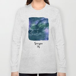 Scorpius Constellation Long Sleeve T-shirt