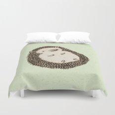 Plump Hedgehog Duvet Cover