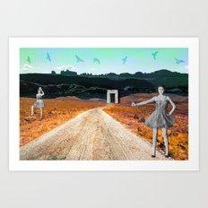 Get Us Out Art Print