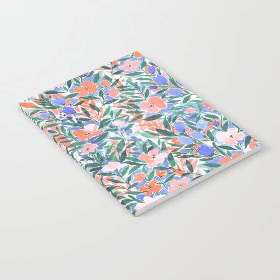 Nonchalant Coral Notebook