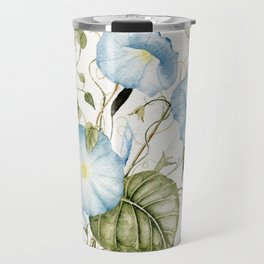 Morning Glories Travel Mug