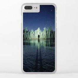 Hunter Island Clear iPhone Case