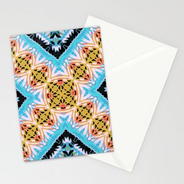 ethnic cross Stationery Cards