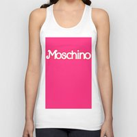 moschino Tank Tops featuring Moschino Barbie by RickyRicardo787