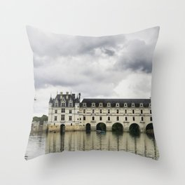 Chateau de Chenonceau Throw Pillow