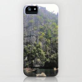 Cliffs of El Nido iPhone Case