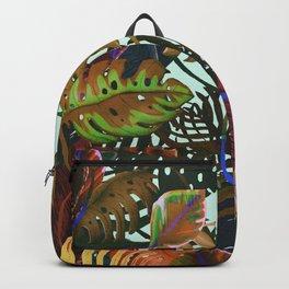 color leaves Backpack