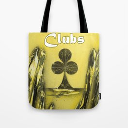 Clubs Suit Tote Bag