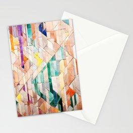 Pastel Tile Mosiac 1 Stationery Cards