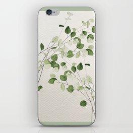 Eucalyptus branches iPhone Skin