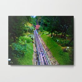 the railway of Bukit Bendera, Penang Metal Print