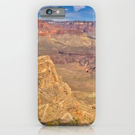 Grand Canyon view from the east side of Skeleton Point iPhone Case