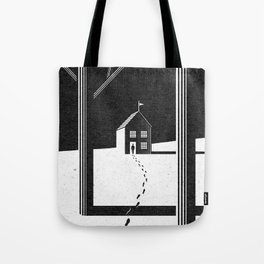 Walking Home/Deposit NY Tote Bag