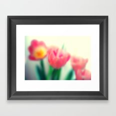 Touch of spring Framed Art Print