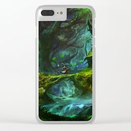 witch house Clear iPhone Case