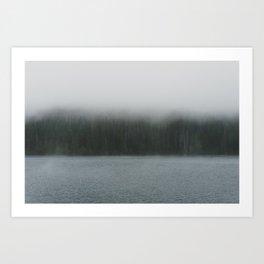 Wahtum Lake - Pacific Crest Trail, Oregon Art Print