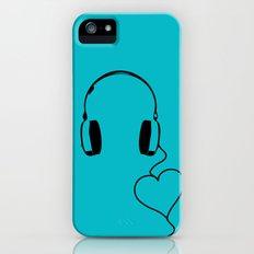 Music Love iPhone (5, 5s) Slim Case