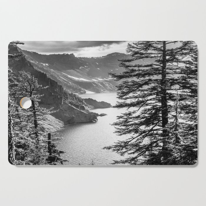 Forest Lake Retreat - Crater Lake Cutting Board