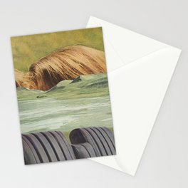 He had many layers. Stationery Cards