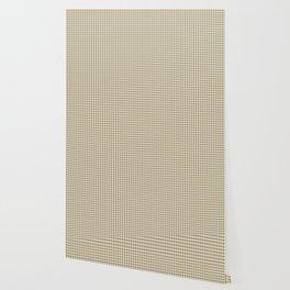 Grey Beige Houndstooth Pattern Wallpaper