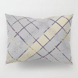 Retro pastel plaid pattern N7 Pillow Sham