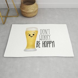 Beer | Don't Worry Be Hoppy Rug