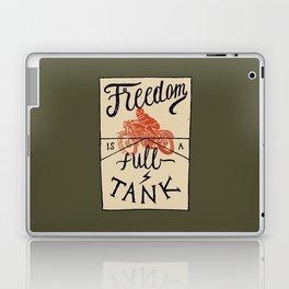 Freedom biker print Laptop & iPad Skin