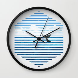 Whale you dive with me? Wall Clock