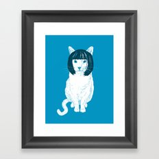 Bobcat. Framed Art Print