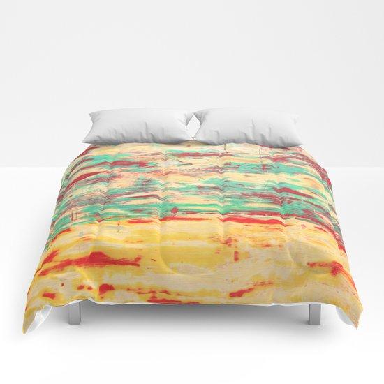 Wooden Pattern Comforters