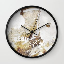 Nightwatchman Wall Clock