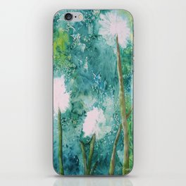 Abstract Dandelions WISH iPhone Skin