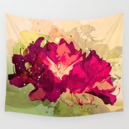 Rhododendron Wall Tapestry