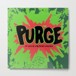 purge Metal Print