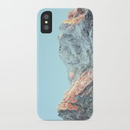 zugspitze mountain panorama, germany. iPhone Case