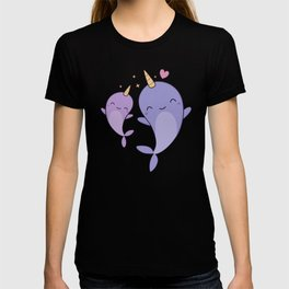 Cute and Kawaii Narwhals T-shirt