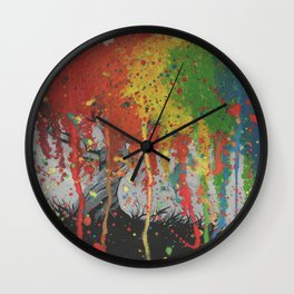 Happy Tree Wall Clock